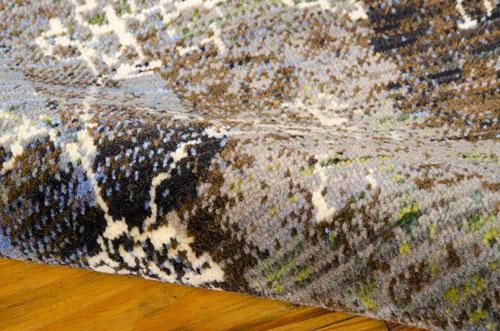 Nourison RHAPSODY RH006 SEAGLASS Detail