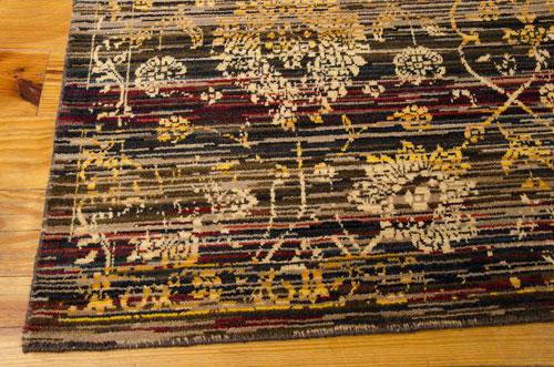Nourison RHAPSODY RH007 EBONY Detail