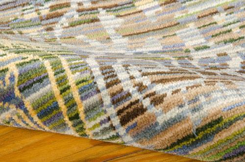 Nourison RHAPSODY RH010 SEAGLASS Detail