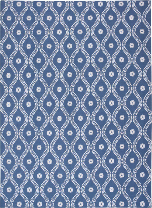 nourison home & garden rs085 navy
