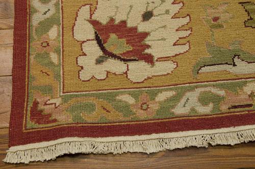 Nourison NOURMAK S174 RUST Detail