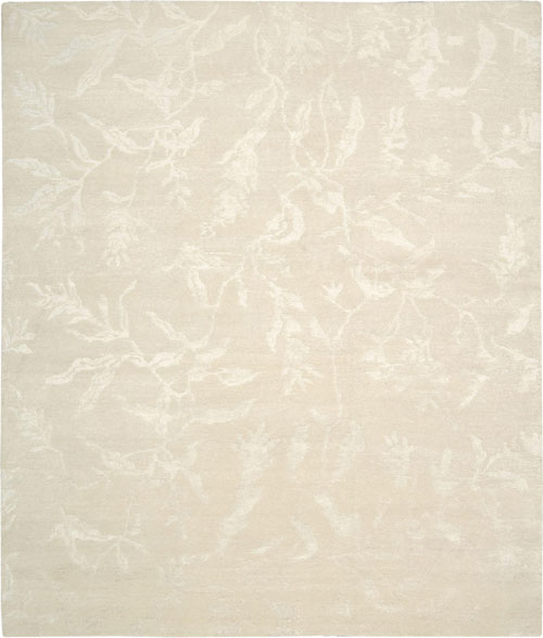 nourison silk shadows sha01 ivory