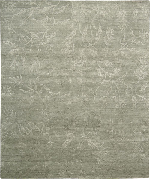 Nourison SILK SHADOWS SHA01 LIGHT GREEN Rug