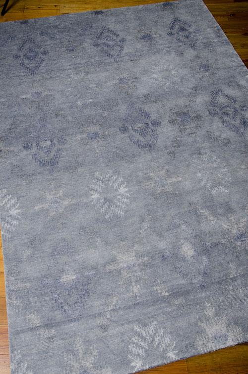 Nourison SILK SHADOWS SHA05 BLUE Detail