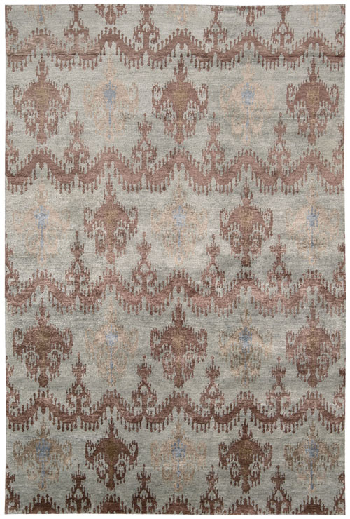 Nourison Blue Stone Rug Silk Shadows Sha15 The Rug Corner