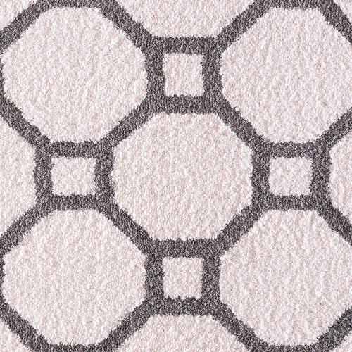 Dynamic SILKY SHAG 5903 WHITE/SILVER Detail
