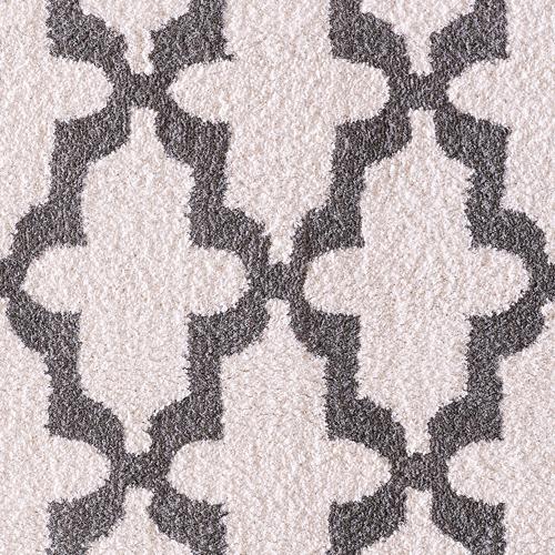 Dynamic SILKY SHAG 5906 WHITE/SILVER Detail