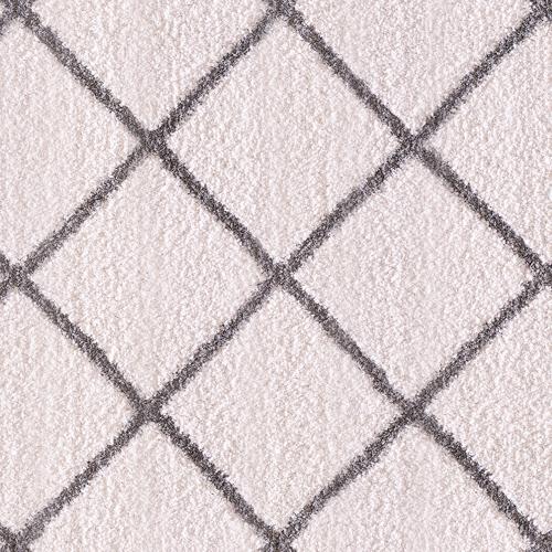 Dynamic SILKY SHAG 5920 IVORY/SILVER Detail