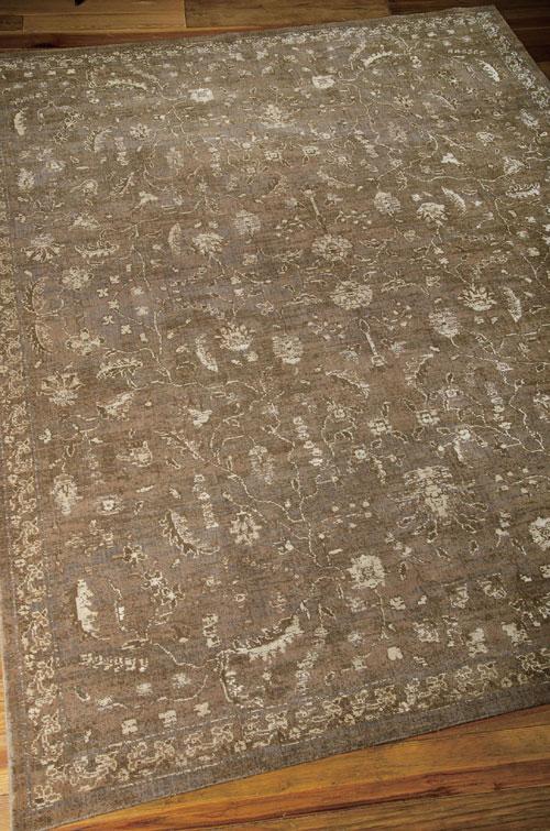 Nourison SILK ELEMENTS SKE02 COCOA Detail