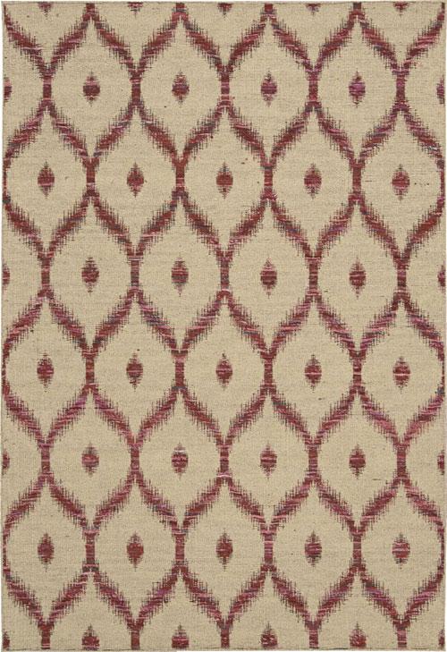 nourison spectrum spe02 beige burgundy
