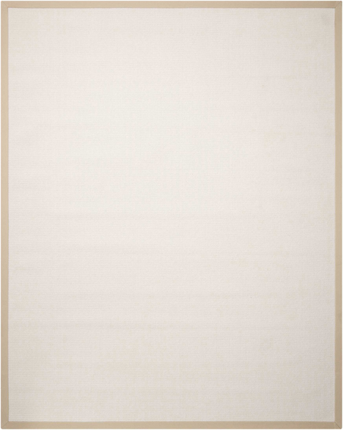 Nourison SISALSOFT SSF02 WHITE
