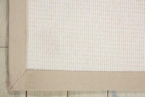Nourison SISALSOFT SSF02 WHITE Detail