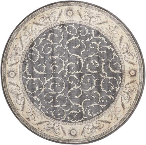 Nourison SOMERSET ST02 CHARCOAL Detail