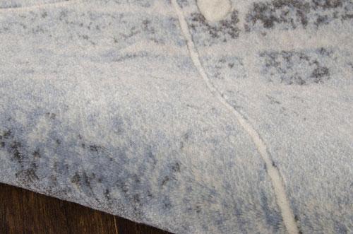 Nourison SOMERSET ST74 SILVER/BLUE Detail