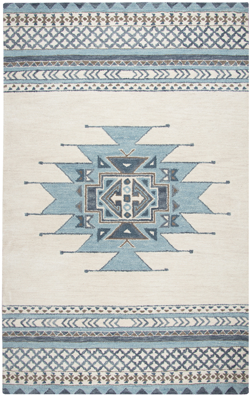 Shop Blue 8x10 Rustic Rugs At The Rug Corner