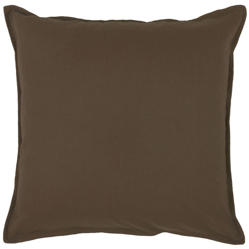 rizzy pillows polyester filled pillow t03427 brown pillow