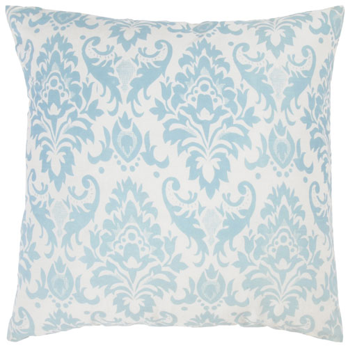 rizzy pillows polyester filled pillow t03594 white pillow