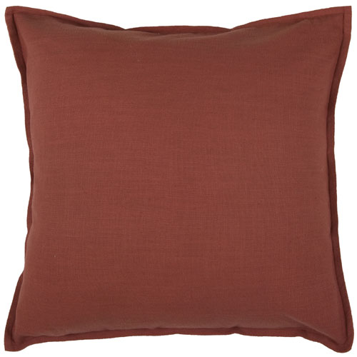 rizzy pillows polyester filled pillow t03639 paprica pillow