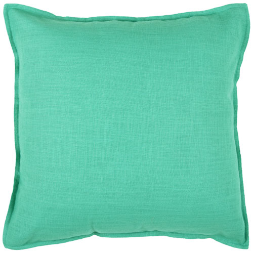 rizzy pillows polyester filled pillow t03714 turkis pillow