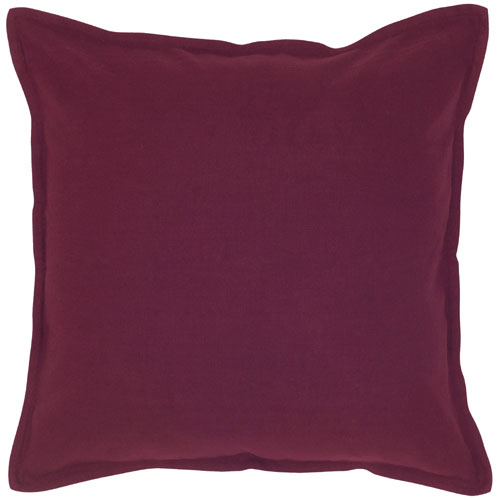 rizzy pillows polyester filled pillow t04402 purple pillow