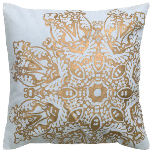 rizzy pillows polyester filled pillow t05008 white pillow