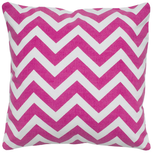 rizzy pillows polyester filled pillow t05288 hot pink pillow