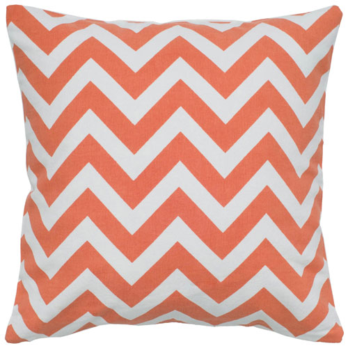 rizzy pillows polyester filled pillow t05289 orange pillow