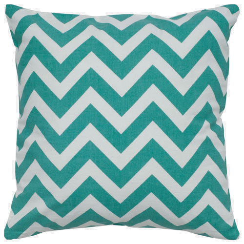 rizzy pillows polyester filled pillow t05290 teal pillow