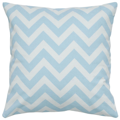 rizzy pillows polyester filled pillow t05292 light blue pillow