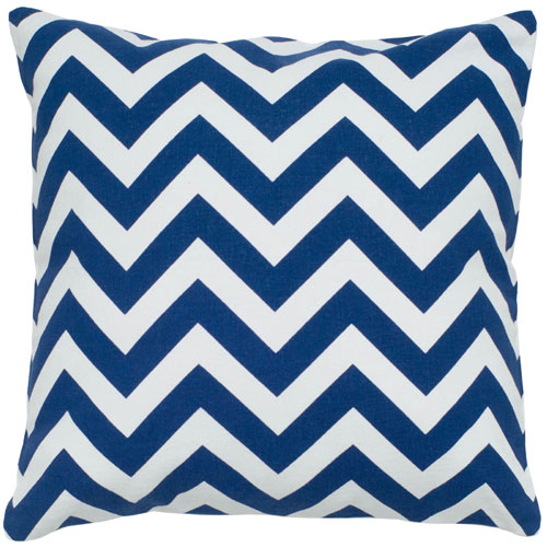 rizzy pillows polyester filled pillow t05293 navy pillow