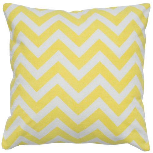 rizzy pillows polyester filled pillow t05294 yellow pillow