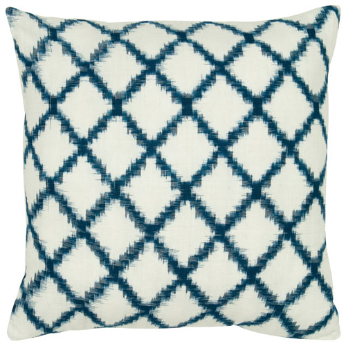 rizzy pillows polyester filled pillow t05535 ivory pillow