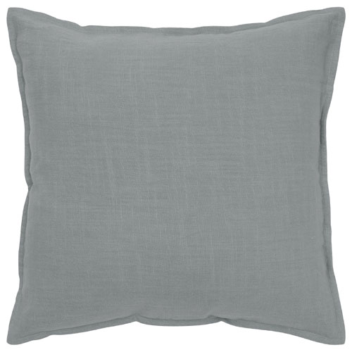 rizzy pillows polyester filled pillow t05677 grey pillow