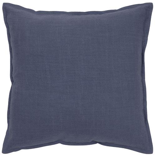 rizzy pillows polyester filled pillow t05678 navy pillow