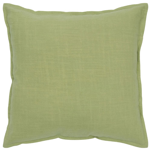 rizzy pillows polyester filled pillow t05679 lime pillow