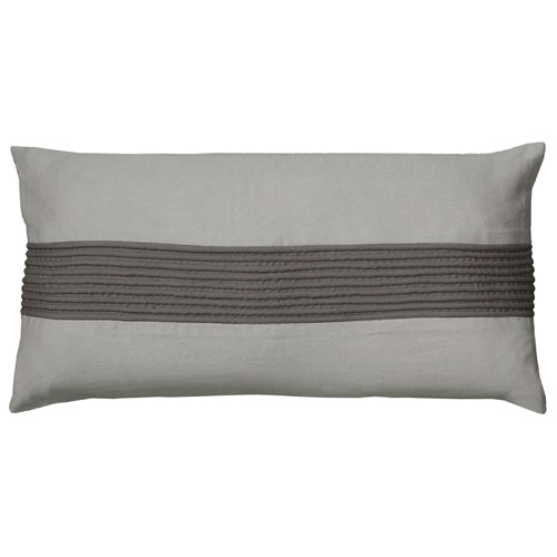 rizzy pillows polyester filled pillow t05983 grey pillow