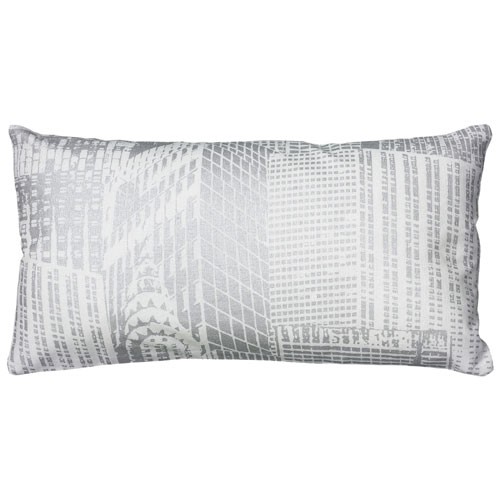 rizzy pillows polyester filled pillow t06087 white pillow