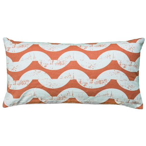 rizzy pillows polyester filled pillow t06130 orange pillow