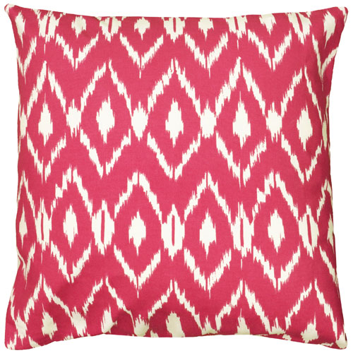 rizzy pillows polyester filled pillow t06147 pink pillow