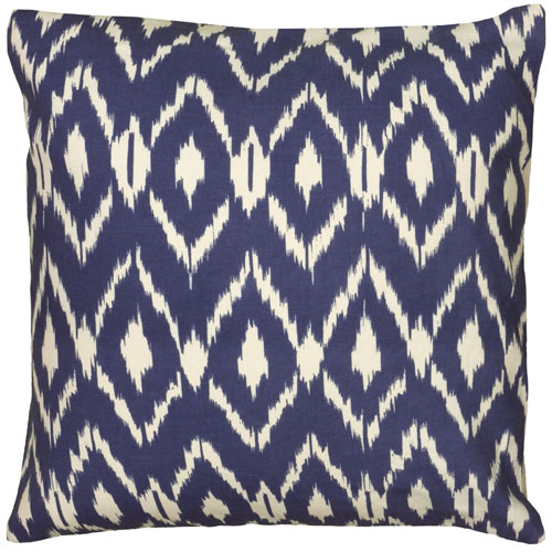 rizzy pillows polyester filled pillow t06149 navy blue pillow