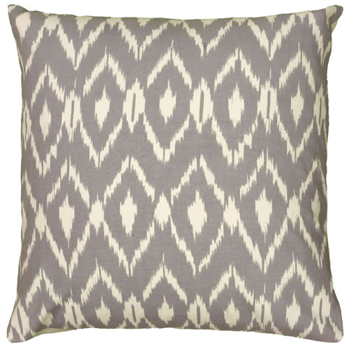 rizzy pillows polyester filled pillow t06151 grey pillow