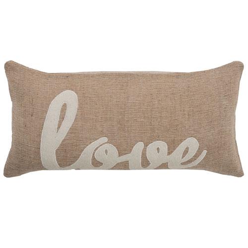 rizzy pillows polyester filled pillow t06153 beige pillow