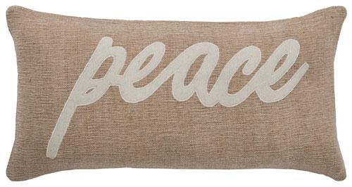 rizzy pillows polyester filled pillow t06154 beige pillow
