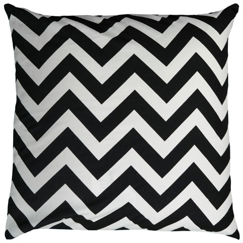 rizzy pillows polyester filled pillow t06159 black pillow