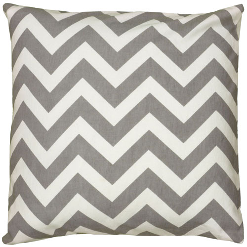 rizzy pillows polyester filled pillow t06161 grey pillow