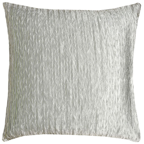 rizzy pillows polyester filled pillow t06487 silver pillow