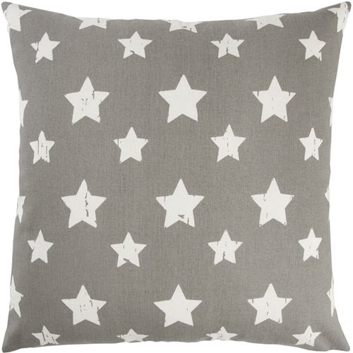 rizzy pillows polyester filled pillow t11066 grey pillow