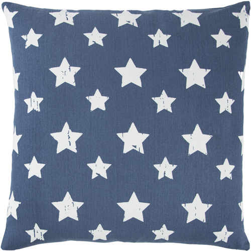 rizzy pillows polyester filled pillow t11220 blue pillow