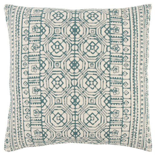 rizzy pillows polyester filled pillow t13132 peacock pillow