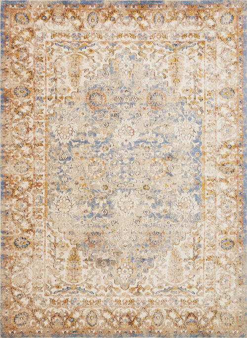 magnolia home trinity ty-05 blue - multi